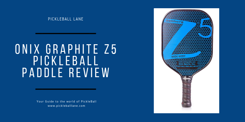 ONIX Graphite Z5 Pickleball Paddle Review 2